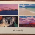 オーストラリアから日本へ。ポストカードの書き方と送り方